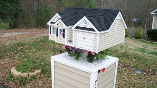 mailbox design cute model - 7067684096