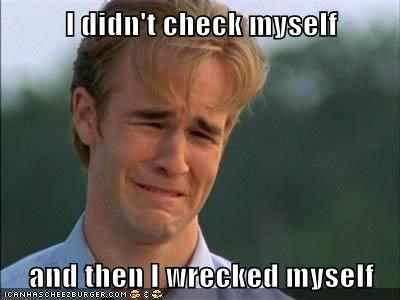 dawsons-creek 90s problems check yourself James Van Der Beek