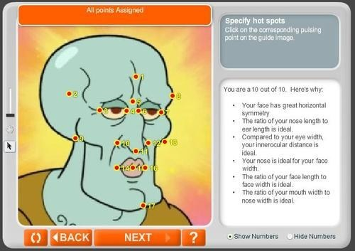 cartoons handsome squidward SpongeBob SquarePants anaface - 7067899648