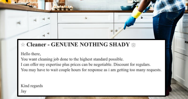 Craigslist posts that are a bit cringe and uncomfortable to read