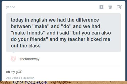 school,english