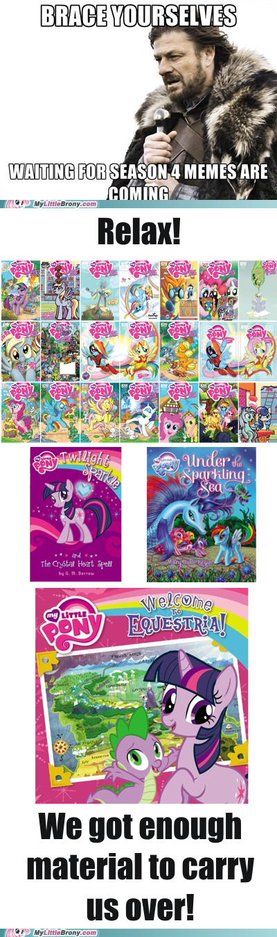 Bronies,comics,season 4,waiting