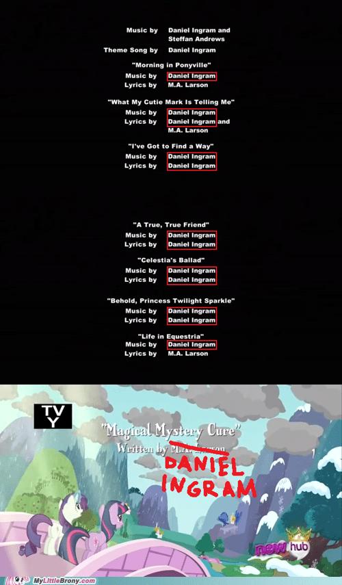 Music daniel ingram season 3 finale magical mystery cure - 7069440256
