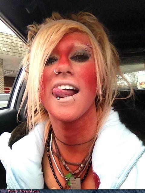 selfie,tanning,piercings