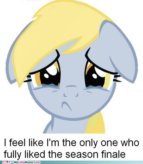 Sad season 3 finale anypony - 7069490176