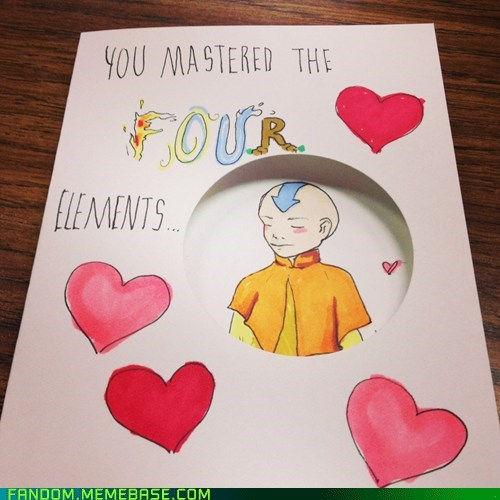 cards Avatar the Last Airbender DIY Valentines day - 7069593344