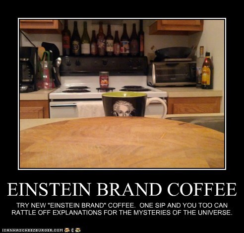 EINSTEIN BRAND COFFEE