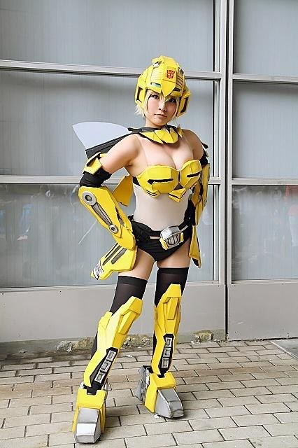 transformers cosplay Bumblebee movies cartoons - 7069655296