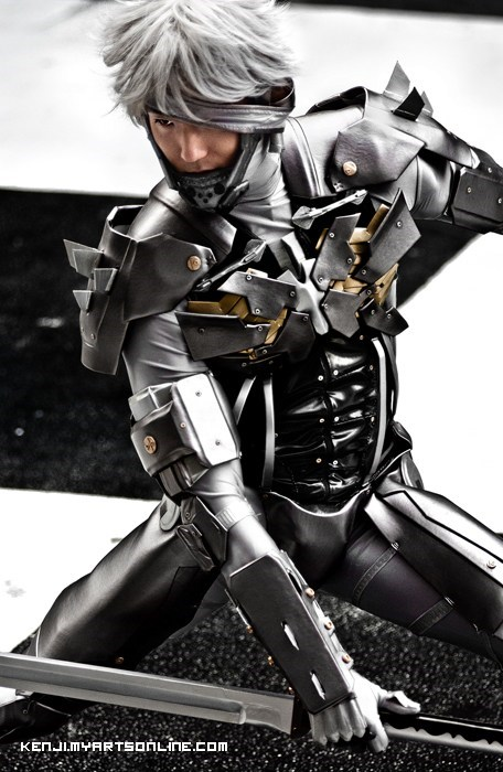 cosplay,video games,raiden,metal gear rising