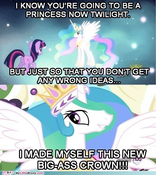 crown celestia magical mystery cure princess twilight - 7069782528