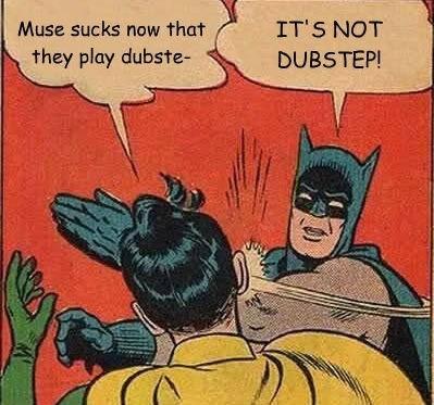 muse dubstep Batman and Robin - 7069840384