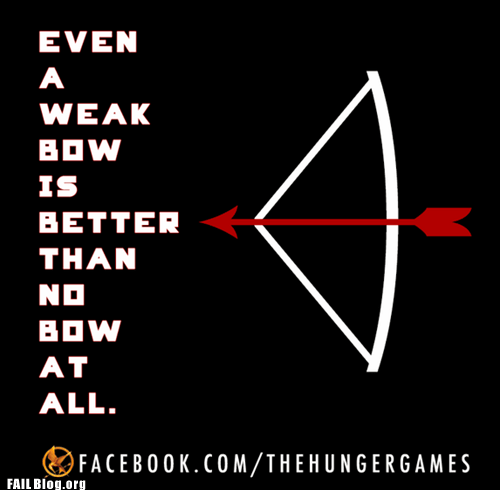 bow and arrow,hunger games,facebook group