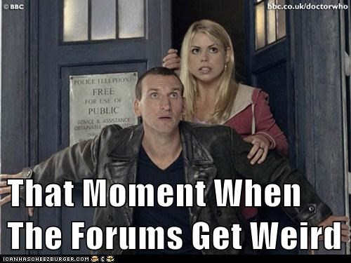 billie piper rose tyler forums tardis doctor who christopher eccleston weird