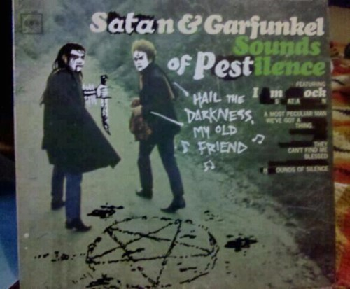 black metal sounds of silence heavy metal Simon and Garfunkle Music FAILS g rated - 7070145536