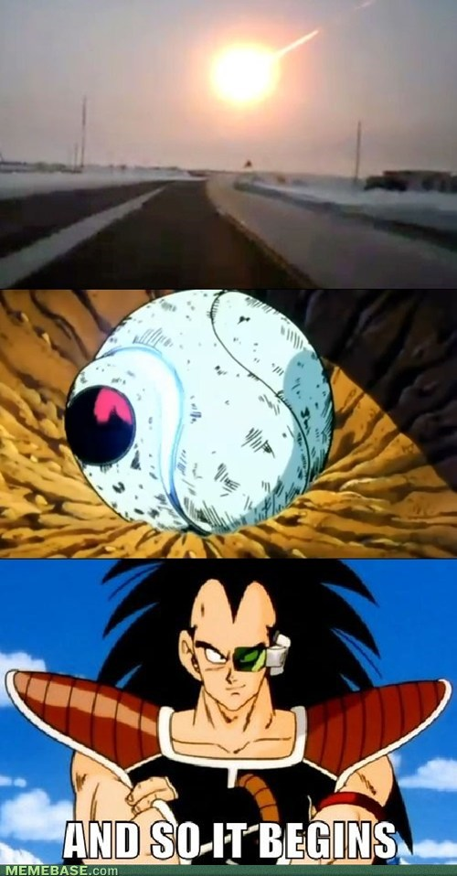 meteor Dragon Ball Z cartoons current events - 7070146048