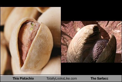 This Pistachio Totally Looks Like The Sarlacc
