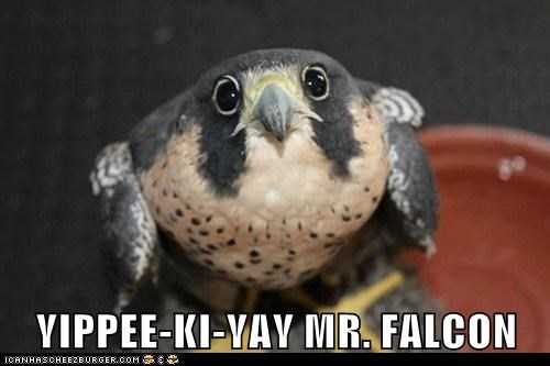 yippee ki yay,falcons,die hard
