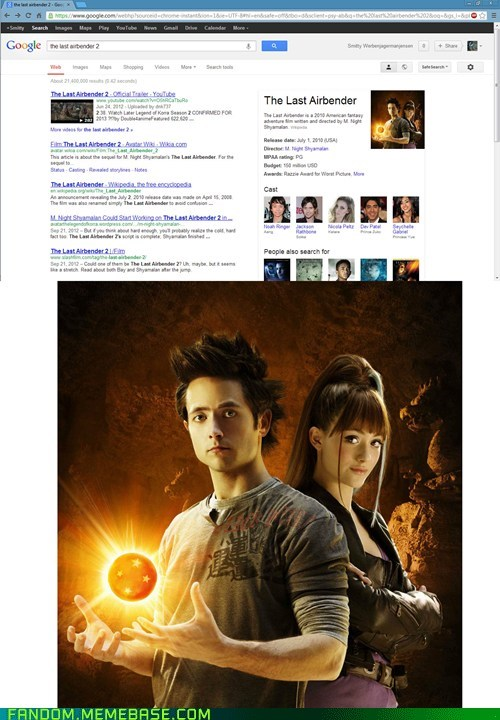 FAIL dragonball evolution the last airbender movies google - 7070868224