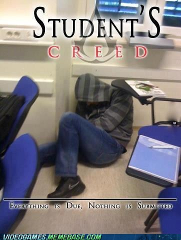 school student IRL assassins creed - 7071004160