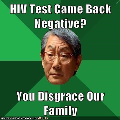 HIV Test Came Back Negative?  You Disgrace Our Family