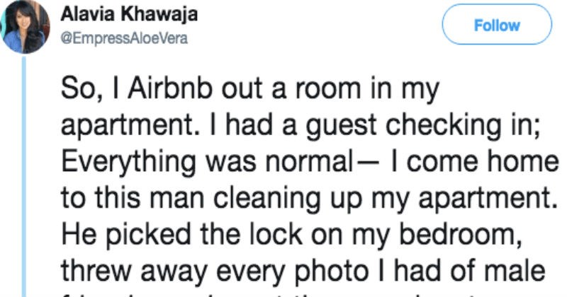 creepy airbnb experience