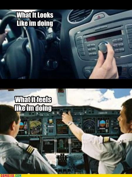 radio,pilot