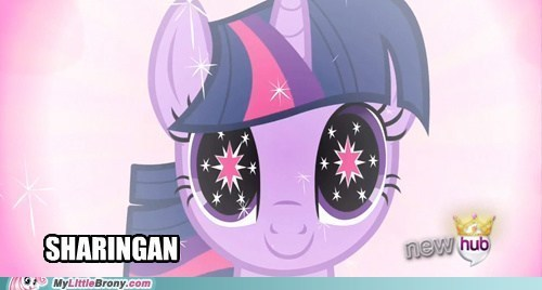 sharingan twilight sparkle naruto
