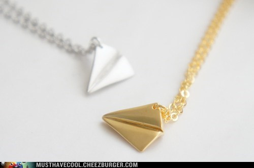 necklaces,Paper Planes,Jewelry