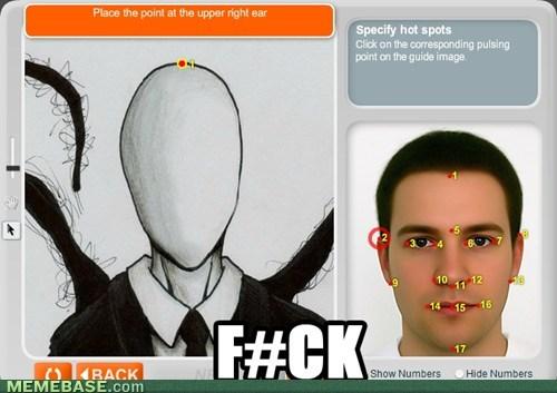 anaface,slender man,face
