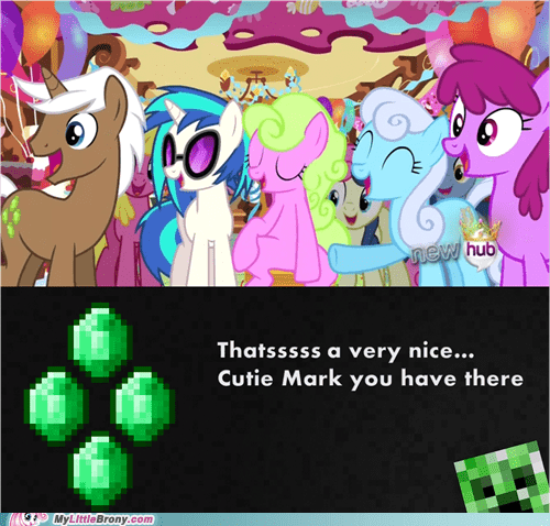 cutie mark creeper minecraft - 7072417280