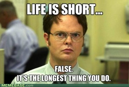 life,time,schrute facts
