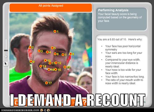 I DEMAND A RECOUNT
