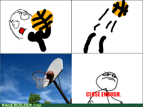 free throws Close Enough basketball - 7073470976