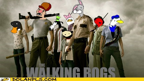 wtf The Walking Dead bogs - 7073820928