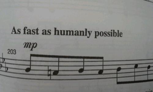 fast sheet music tempo - 7074224384