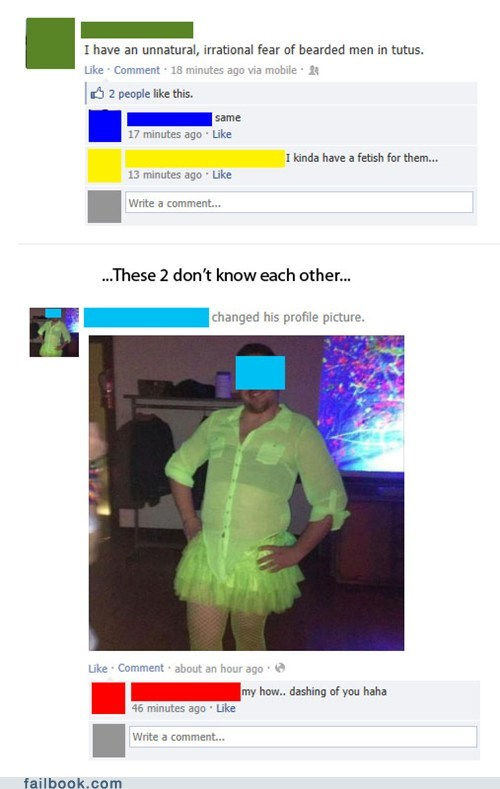 phobias,men in tutus,tutus