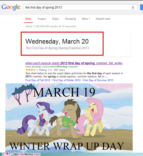 Winter Wrap Up Date