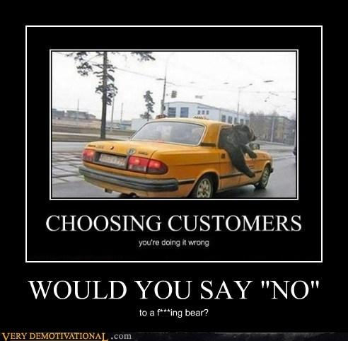 wtf,bear,taxi,no