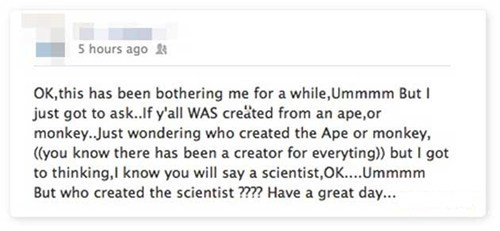 nasa,evolution,apes,science,failbook,g rated