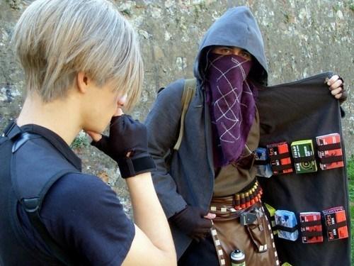 cosplay IRL resident evil 4 - 7074535680