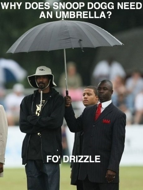 puns,snoop dogg,umbrellas,Music FAILS,g rated