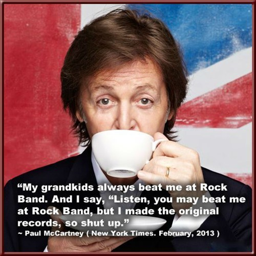 the Beatles paul mccartney rock band Music FAILS g rated - 7074555136