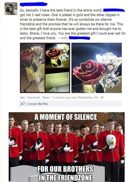 facebook,flowers,friend zone