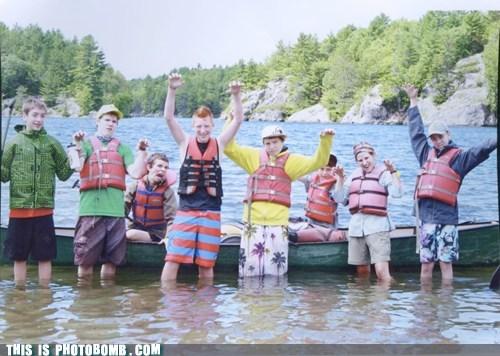kids,canoe