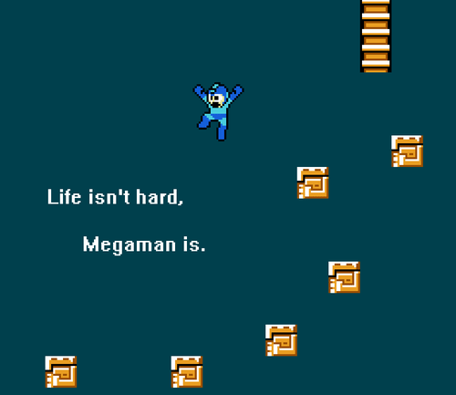life,difficulty,mega man