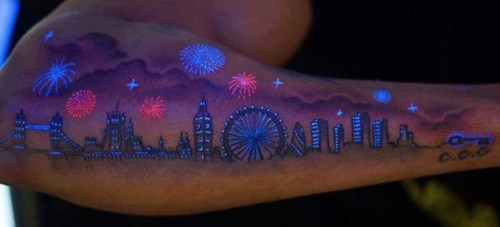 black light tattoos,London,win