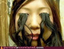 hair eyes