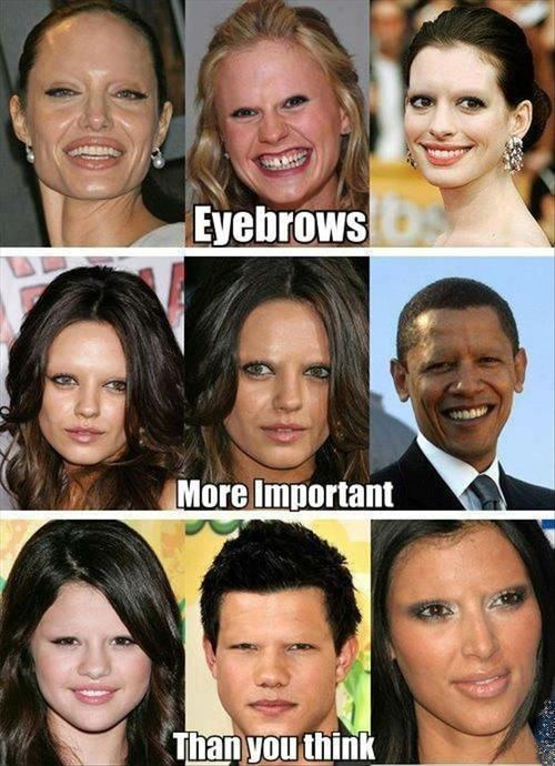eyebrows barack obama celeb - 7074920448