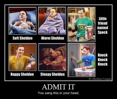 big bang theory,song,sheldon