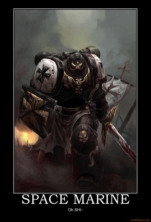 scary space marine warhammer 40k - 7074996480
